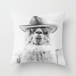 JOE BULLET Throw Pillow