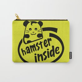 hamster inside Carry-All Pouch