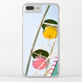Carefree Summer of Love Clear iPhone Case