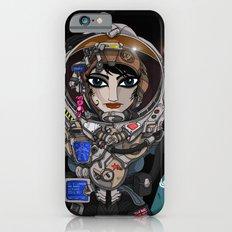 Astronaut Girl. Slim Case iPhone 6s
