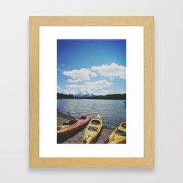 roadtrip 7.11 Framed Art Print
