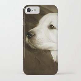 Cute labrador puppy iPhone Case