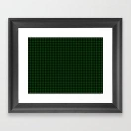 Gunn Tartan Framed Art Print