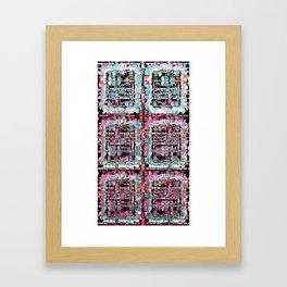 Scrambled Framed Art Print