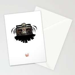 """Livin' For The City - """"Good Vibrations"""" Stationery Cards"""