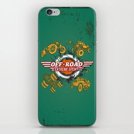Offroad Extreme Sport iPhone Skin