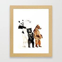 Bare Necessities Framed Art Print