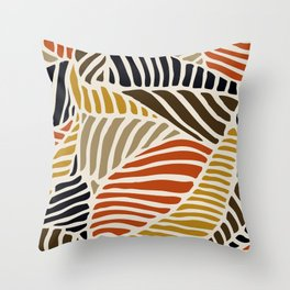 spicey leaf Throw Pillow