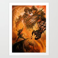 Demon Slayer Art Print