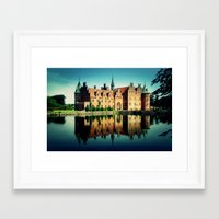 castle Framed Art Prints featuring Castle by EclipseLio