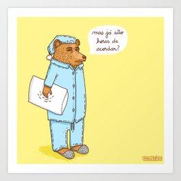 Hibernar Art Print
