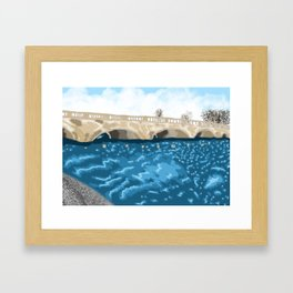 The Serpentine Kensington Gardens Framed Art Print