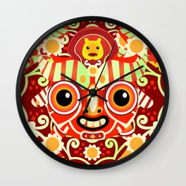 Ño - Patroncitos Wall Clock