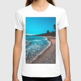 Stony bay at greece T-shirt