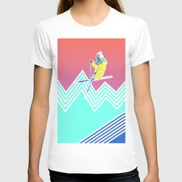 Dude skis like it's 1989 T-shirt