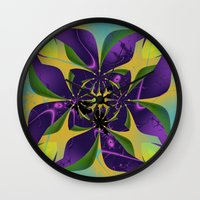 60s Wall Clocks featuring 60s Reunion by Jim Pavelle