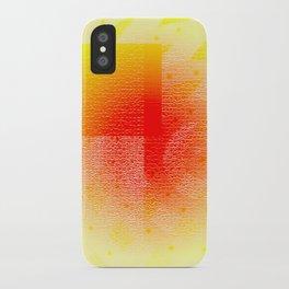 Orange #53 iPhone Case
