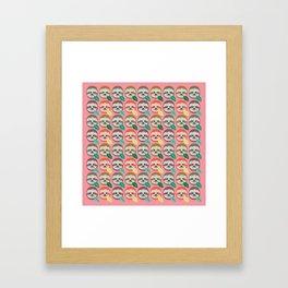 The Slothful Ones II Framed Art Print