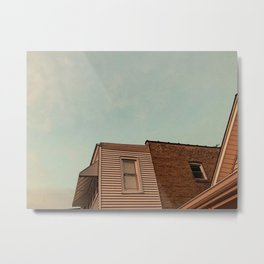 Dusk in the City Metal Print