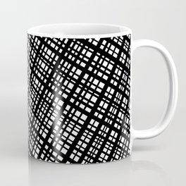 The Bauhaus Grid, diagonal pattern Coffee Mug