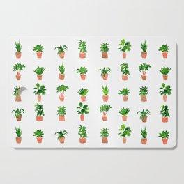 Plant Pots Cutting Board