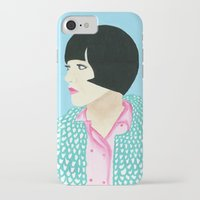 anna iPhone & iPod Cases featuring Anna by kate gabrielle