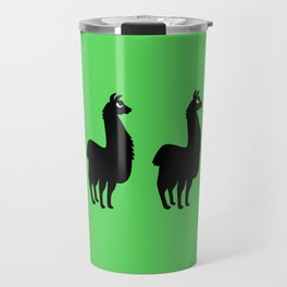 Angry Animals: llama Travel Mug