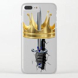 Corona lucha por el Reinado Clear iPhone Case