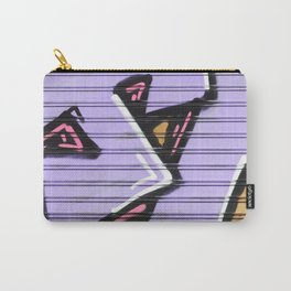 Street Art - Violet Urban Collection Carry-All Pouch