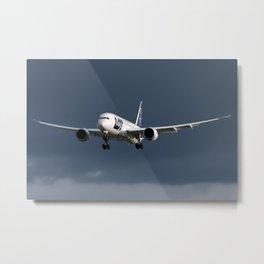 Polish Airlnes 787 Metal Print
