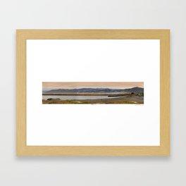 Ventura Harbor Jetty Framed Art Print