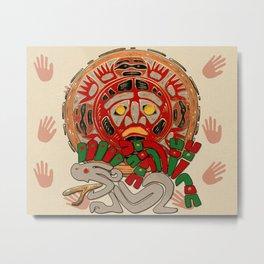 Hands Across The Sun Metal Print
