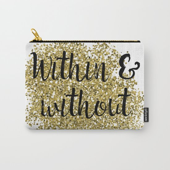 Within and without - golden jazz Carry-All Pouch