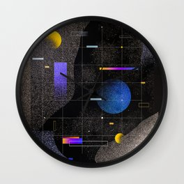 Cool Universe Wall Clock