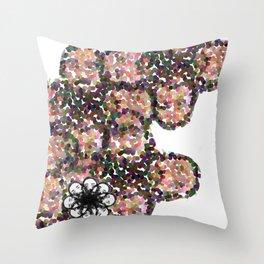 A Man and his Beard Throw Pillow