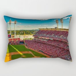 Cincinnati Stadium Rectangular Pillow