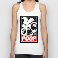 obey Tank Tops featuring OBEY by Artistic Dyslexia