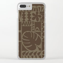 Huambo Clear iPhone Case