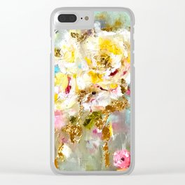Hot Mess Clear iPhone Case