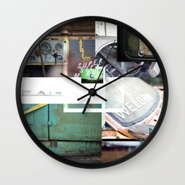 Super Sick of Rules Wall Clock
