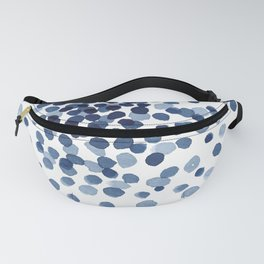 Explosion of Blue Confetti Fanny Pack