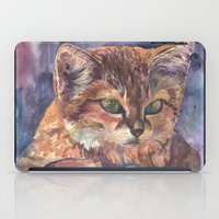 meow iPad Cases featuring Meow by Emma Reznikova