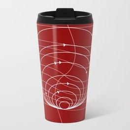 CIRCULAR_DIRECTIONS Metal Travel Mug