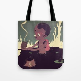 Black-water coconut Tote Bag