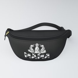 Mama Chess Board Game Player Mom Fanny Pack