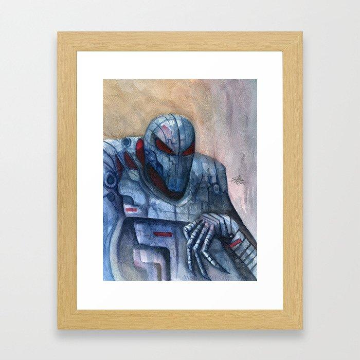 Sinister Syndroid Framed Art Print