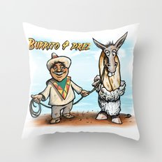 Burrito 4 Prez Throw Pillow
