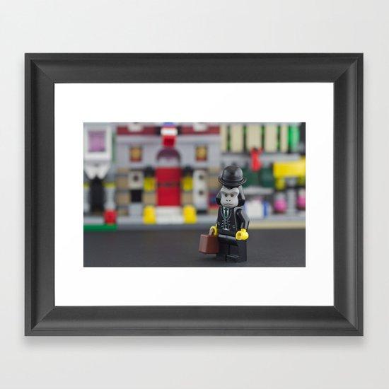 Monkey Suit Framed Art Print