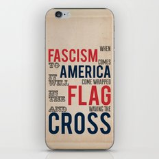 Fascism iPhone & iPod Skin