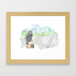 Angel's Rest Framed Art Print